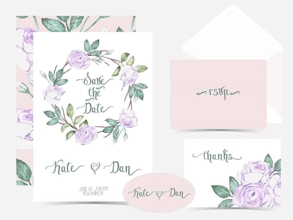 טיפים עיצוב הזמנות לחתונה